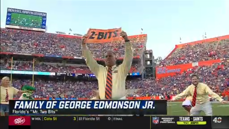 "Honoring ""Mr. Two Bits"", George Edmondson Jr."