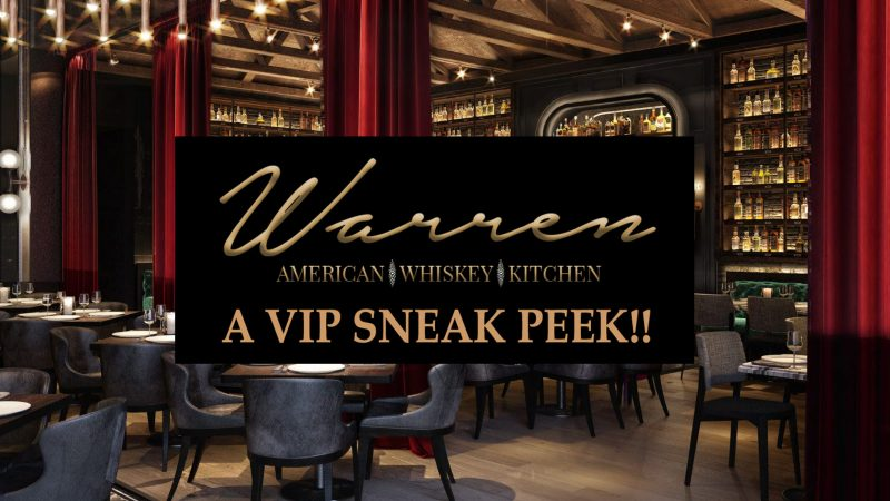 Warren Delray – a VIP sneak peek